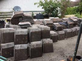 Redland Stonewold Concrete Roof Tiles