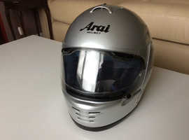 Arai SV motorcycle helmet..