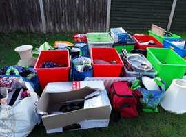 House Hold items good for car boot need gone loads of stuff