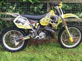 Suzuki rm250 2 stroke 1998 model motocross bike