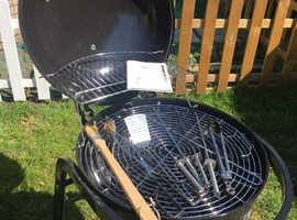 Barbecue just waiting to be used