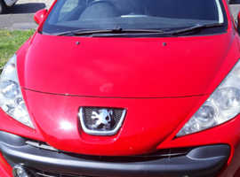 Peugeot 207, 2009 (09) Red Estate, Manual Petrol, 104,500 miles