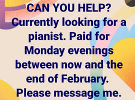 Pianist wanted