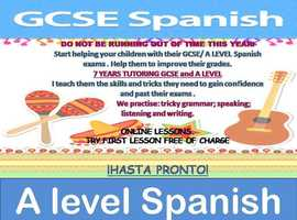 GCSE/ A Level exam preparation. Try First lesson for FREE!
