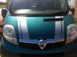 Vauxhall Vivaro 9 seat minibus with wheelchair access