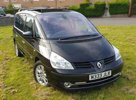 Renault Espace, 2010 (60) Black MPV, Manual Diesel, 142,004 miles2010,,, (10 PLATE.),,, RENAULT GRAND ESPACE,,, 2.0DCI,,, MK4,,, EXPRESSION-DYNAMIC,,,