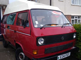 VW T25 campervan PROJECT