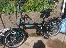 New Classic Saker Folding Bike