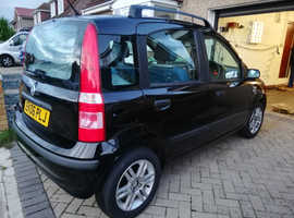 Fiat Panda, 2006 (06) Black Hatchback, Manual Petrol, 103,237 miles