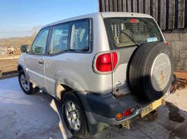 Nissan Terrano, 2003 (53) Silver Estate, Manual Diesel, 141,854 miles