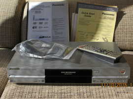 PANASONIC DVD RECORDER  Model No. DMR-E55