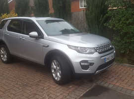 Land Rover DISCOVERY SPORT, 2017 (67) Silver Estate, Automatic Petrol, 35,000 miles