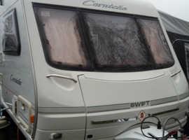 2 berth swift caravan