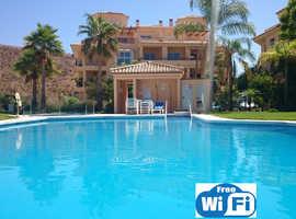 """LA VISTA"" - a fabulous 3 bed holiday Penthouse apartment in Calahonda, Spain (nr Marbella)"