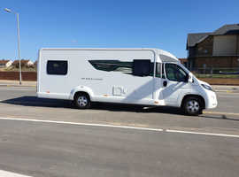 2017 plate motor home only used 4times since brand new 4000 miles on clock £45250