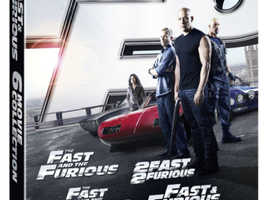 The Fast & Furious car chase action films  all 6 movies in one box set