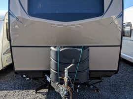 American slide out caravan