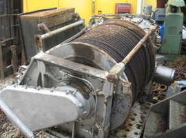 Heavy Duty 30 Ton Line Pull Winch Ex Army Very Long Cable