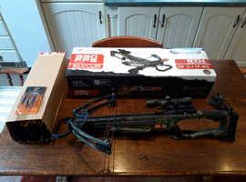 Barnett Raptor Fx Crossbow for sale Including all kit even target bosses! £250