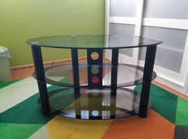 FREE Smoked glass TV unit