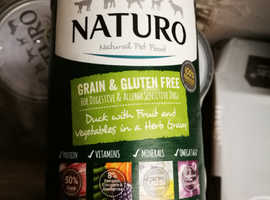 Naturo dog food - Duck flavour x69 tins for sale
