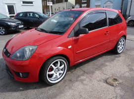Ford Fiesta, 2008 (58) Red Hatchback, Manual Petrol, 88,224 miles