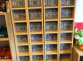 Complete N64 PAL games collection and All Consoles