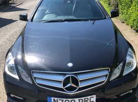 Mercedes E Class, 2011 (11) Black Coupe, Automatic Diesel, 68,574 miles