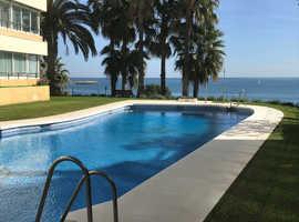 BEAUTIFUL TWO BEDROOM APARTMENT BENALMADENA-COSTA BEACH  FRONT