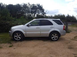 Kia Sorento, 2008 (08) Silver Estate, Automatic Diesel, 118,000 miles