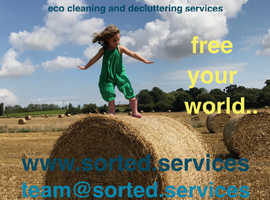SORTED! Eco cleaning and decluttering services