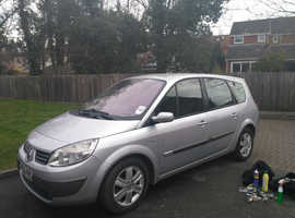 Renault GRND SCENIC DYNAMIQUE DCI, 2006 (56) Grey Estate, Manual Diesel, 90,000 miles