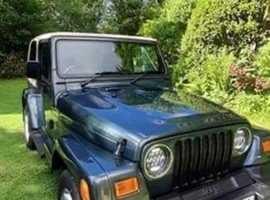 Jeep Wrangler, 2002 (52) Green Estate, Manual Petrol, 141,445 miles