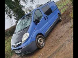Vauxhall Vivaro LWB van 2.0 Diesel