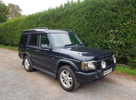Land Rover Discovery, 2004 (04) Blue Estate, Automatic Diesel, 89,615 miles