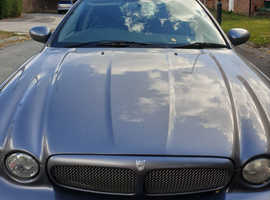Jaguar X-TYPE, 2006 (56) Grey Saloon, Manual Diesel, 113,635 miles