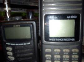 Aor 8000 Alinco radio scanners