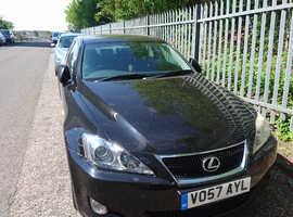 Lexus Is, 2007 (57) Black Saloon, Manual Diesel, 197,000 miles