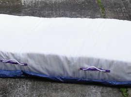 Half a double bed mattress.