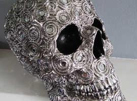 'Spiral Reflection' large Skull.