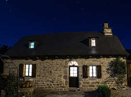 Authentic French ancient house fully restored in calm environment in Correze, France.