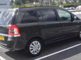 Vauxhall Zafira, 2014 (64) Grey MPV, Manual Petrol, 111,567 miles, £4500 ono