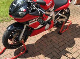 2002 Yamaha R6 5eb