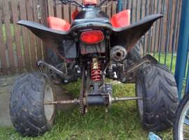 Quad 250cc swap for crosser