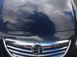 Vauxhall Insignia, 2012 (62) Black Hatchback, Manual Diesel, 60,000 miles