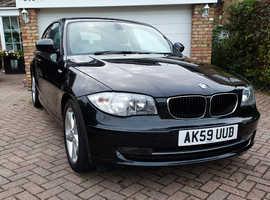BMW 118D Sport, 2009 Facelift, E87, Black Sapphire Metallic, 38k FSH, 1 Series m