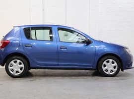 Dacia Sandero, 2013 (63) Blue Hatchback, Manual Petrol, 40,000 miles