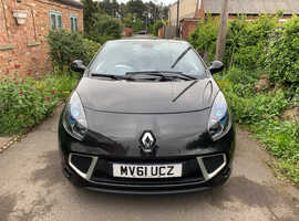 Renault WIND ROADSTER, 2011 (61) Black Convertible, Manual Petrol, 26,311 miles