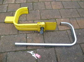 Caravan Wheel Clamp for sale.