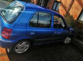 Nissan Micra, 2001 (Y) Blue Hatchback, Cvt Petrol, 940,000 miles